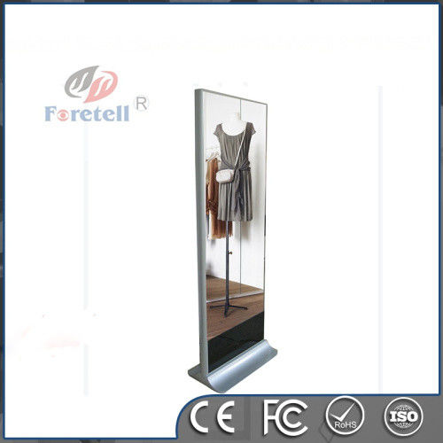 42 Inch Floor Standing Interactive Digital Signage Solution Magic Mirror Andorid Windows